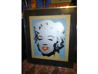 Retro 1980s Limited Edition Print of Marilyn Monroe Alan Gordon