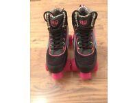 Roller skates Black/Multi Size 5 - £20.00