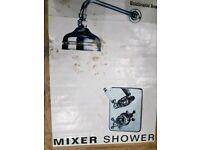 Brand new Mixer shower