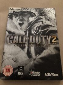 Call of duty 2 collectors edition PC