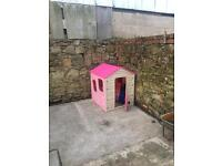 Kids plastic play house