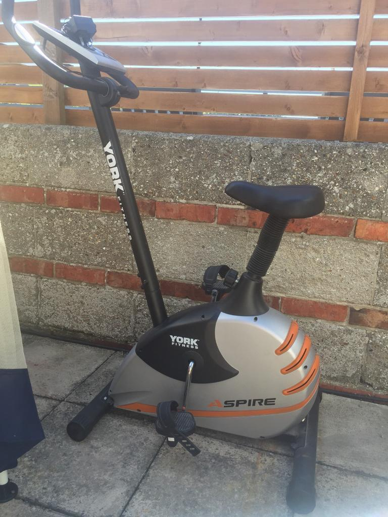 York Fitness Exercise Bikein Portsmouth, HampshireGumtree - Fitness bike/clothes horse!Not been used very oftenGood condition Comes with plugPick up only