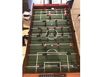 Games room sized football table for sale