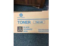 Black toner for Konica Minolta Bizhub C200
