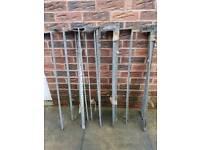 Roofing restraint straps