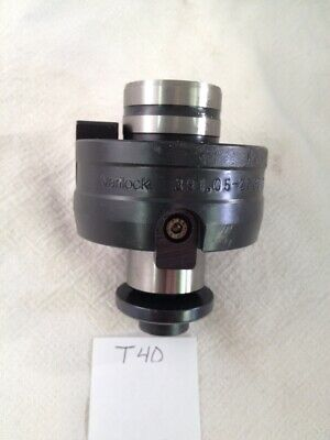 Used Sandvik Varilock Facemill Arbor Adaptor. 391.05-27 63 030. Coromant T40