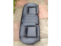 FORD MONDEO REAR SEAT ORIGINAL BLACK LETHER