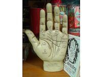 Vintage retro themed Palmistry Hands, with booklet
