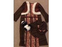 Shepherds Nativity costume age 3-4 £10 ono