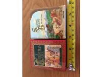 A Christmas Carol and Sleeping Beauty mini books