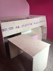 Girls cabin bed from dreams