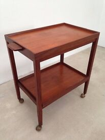G Plan Teak Serving Trolley c/w removable trays. @ Cardiff. Local Delivery.
