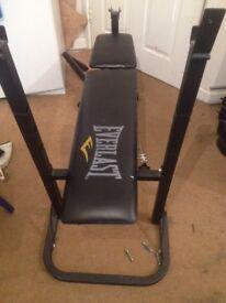 Everlast EV110 adjustable weights bench