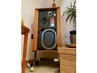 KEF CONCERTO SPEAKERS. Immaculate 1970s Legendary Units.