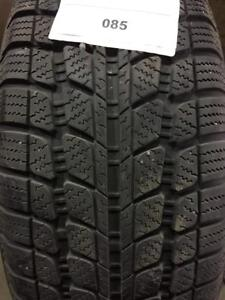 PNEUS HIVER USAGÉS / USED WINTER TIRES 205/55R16 20555R16 91H SUNNY SNOWMASTER