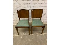2 x retro chairs , in good condition for age . £25 each or the pair for £40
