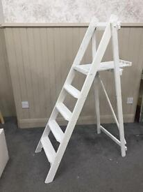 Large wooden step ladders