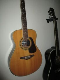 Vintage V300 Acoustic (Modded with Fishman Electronics)