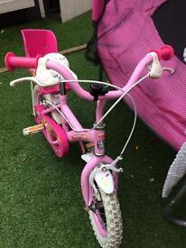 Girls Apollo cupcake bike 12 inch wheels
