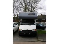 5 berth Ford transit Campervan motorhome 2.5ltr diesel with MOT