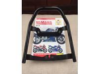 Yamaha R1 grab rail and Hanyes manual