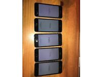 iPhone 5S 16Gb for sale x 5 - Vodafone