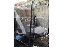 Trampoline just needs pads to cover springs cheap to buy on ebay