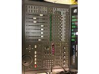 Mackie Hui control surface mixing desk