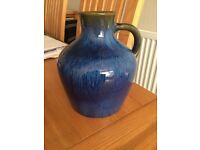 Stunning Early DENBY Flaggon Midnight Blue 1930s Danesby Ware