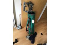 Golf Clubs and Bag - 11 CLUBS TOTAL