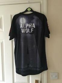 Men's alpha wolf run t-shirt