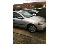 2002 Vauxhall Astra sxi 1.6 16v