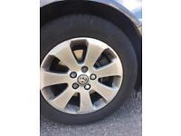 Vauxhall Insignia SRI 17 Inch 5 Stud Alloys