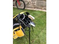 Child's golf bag.