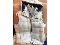 Beautiful woman's genuine super dry gilet in great condition size L 12-14