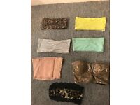 7 Crop tops size small 6/8
