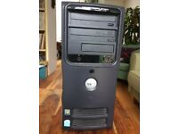 Dell PC with Pentium 4 processor, 160GB hard drive with Windows XP - good condition