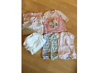 Next girls clothing bundle aged 9-12 months