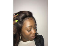 BLACKHAIRDRESSER LONDON , 360 CLOSURE ,CROCHET BRAIDS , FAUX LOCS ,CUSTOM WIGS .HAIR EXTENSION