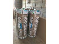 5 rolls 200mm insulation