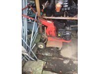 Petrol rotavator