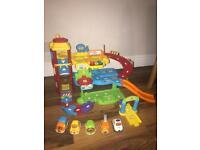 Vtech toot toot garage and vehicles