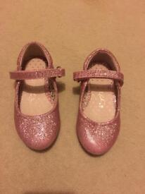 Girls NEXT Glitter Shoes - Size 7