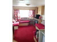 7 nights at Blue Dolphin Haven site . Filey . 2 bed caravan to rent