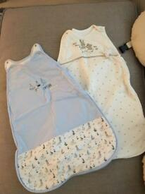 Baby sleeping bags used once in store now!!