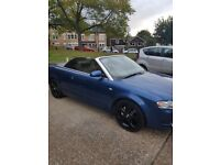 **Audi A4 Convertible 2007** 60 thousand genuine miles!!