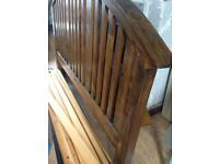 Antique style king size bed £50