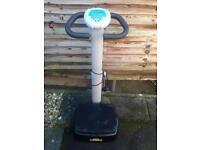 Vibrating platform weight loss machine