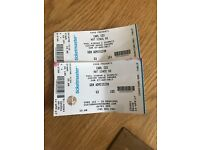 Carl Cox tickets x2 - Custom House Square, Belfast -