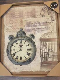 Clock - BRAND NEW